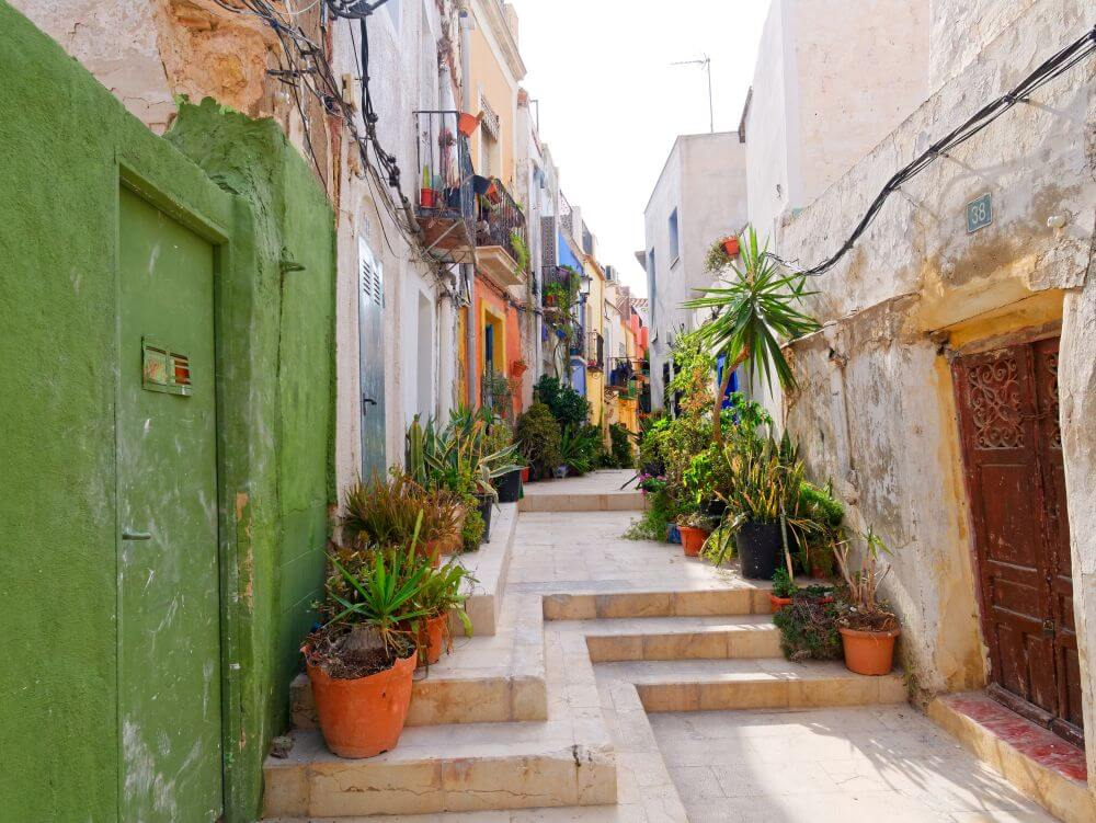 Domy w Alicante