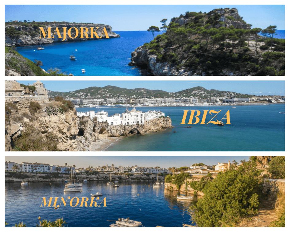 popularne wyspy na Balearach